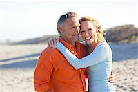 Portrait of Mature Couple on Beach, Jupiter, Palm Beach County, Florida, USA Stock Photo - Premium Royalty-Freenull, Code: 600-06701934