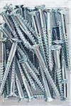 close-up of jumble of metal silver screws Stock Photo - Premium Rights-Managed, Artist: photo division, Code: 700-06701949