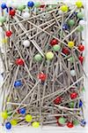 close-up of multi-colored pins Stock Photo - Premium Rights-Managed, Artist: photo division, Code: 700-06701963