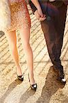 Young Couple Holding Hands, Low Section Stock Photo - Premium Rights-Managed, Artist: ableimages, Code: 822-06702245