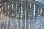 Water Running from Showerhead, Close-up view Stock Photo - Premium Rights-Managed, Artist: ableimages, Code: 822-06702419