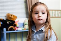 Portrait of Young Girl Stock Photo - Premium Rights-Managednull, Code: 822-06702437