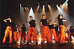 Group of dancers performing Stock Photo - Premium Rights-Managed, Artist: Aflo Relax, Code: 859-06710992