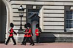 Changing the Guard at Buckingham Palace, London, England Stock Photo - Premium Rights-Managed, Artist: Aflo Relax, Code: 859-06711079
