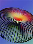 Torus. Computer artwork of of a torus. A torus is a mathematical surface with the shape of a doughnut. Stock Photo - Premium Royalty-Free, Artist: Garreau Designs, Code: 679-06713776