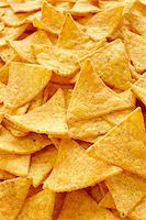 spicy - Close-Up of Tortilla Chips (full frame) Stock Photo - Premium Rights-Managednull, Code: 700-06714075