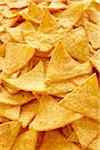 Close-Up of Tortilla Chips (full frame) Stock Photo - Premium Rights-Managed, Artist: photo division, Code: 700-06714075