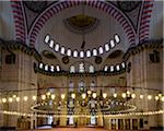Turkey, Marmara, Istanbul, Suleymaniye Mosque, the largest mosque in the city Stock Photo - Premium Rights-Managed, Artist: Siephoto, Code: 700-06714230