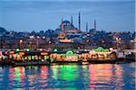Turkey, Marmara, Istanbul, Suleymaniye Mosque, the largest mosque in the city, view by the Golden Horn Stock Photo - Premium Rights-Managed, Artist: Siephoto, Code: 700-06714233