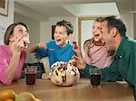 Family eating ice cream together Stock Photo - Premium Royalty-Free, Artist: Uwe Umstätter, Code: 649-06716588