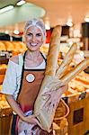 Baker smiling in store Stock Photo - Premium Royalty-Free, Artist: Cultura RM, Code: 649-06717207