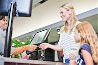 Mother and daughter in grocery store Stock Photo - Premium Royalty-Freenull, Code: 649-06717230