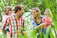 Family walking together in park Stock Photo - Premium Royalty-Freenull, Code: 649-06717260