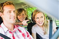 road trip - Family riding in car together Stock Photo - Premium Royalty-Freenull, Code: 649-06717277