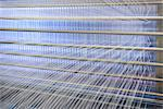 Threads on loom in textile mill Stock Photo - Premium Royalty-Free, Artist: Cultura RM, Code: 649-06717750