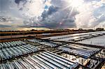 Aerial view of industrial containers Stock Photo - Premium Royalty-Free, Artist: Cultura RM, Code: 614-06718268