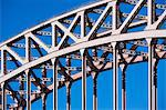 Detail of urban bridge infrastructure Stock Photo - Premium Royalty-Free, Artist: Matthias Kulka, Code: 614-06718783