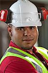 Industrial worker in plant Stock Photo - Premium Royalty-Free, Artist: Robert Harding Images, Code: 614-06719114