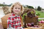 Boy with produce in truck bed Stock Photo - Premium Royalty-Free, Artist: Robert Harding Images, Code: 614-06719275