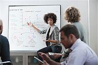 Businesswoman talking in meeting Stock Photo - Premium Royalty-Freenull, Code: 614-06719436