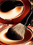 Close up of brush in makeup palette Stock Photo - Premium Royalty-Free, Artist: Cultura RM, Code: 614-06719530