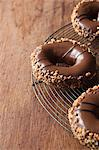 Close up of decorated doughnuts Stock Photo - Premium Royalty-Free, Artist: Minden Pictures, Code: 614-06719579