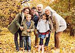 Family smiling together in park Stock Photo - Premium Royalty-Free, Artist: Beth Dixson, Code: 6113-06721156
