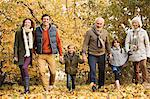 Family walking together in park Stock Photo - Premium Royalty-Free, Artist: CulturaRM, Code: 6113-06721162