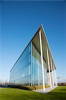 Modern building and blue sky Stock Photo - Premium Royalty-Freenull, Code: 6113-06721426