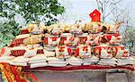 Religious offering and prasada for sale at Mansa Devi Temple, Haridwar, Uttarakhand, India Stock Photo - Premium Rights-Managed, Artist: Photosindia, Code: 857-06721470