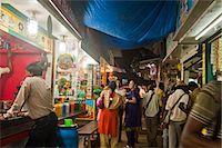 food stalls - People at food stalls, Juhu Beach, Mumbai, Maharashtra, India Stock Photo - Premium Rights-Managednull, Code: 857-06721672