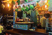 food stalls - People at a food stall, Juhu Beach, Mumbai, Maharashtra, India Stock Photo - Premium Rights-Managednull, Code: 857-06721673