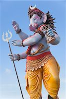 represented - Idol of Lord Ganesha representing Lord Shiva, Mumbai, Maharashtra, India Stock Photo - Premium Royalty-Freenull, Code: 630-06723320