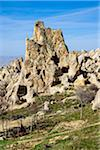 Turkey, Central Anatolia, Cappadocia, Tuff Rocks in Uchisar, Goreme Valley Stock Photo - Premium Rights-Managed, Artist: Siephoto, Code: 700-06732667
