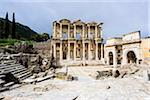Turkey, Aegean Region, Ephesus, Celsus Library (Izmir Ili district) Stock Photo - Premium Rights-Managed, Artist: Siephoto, Code: 700-06732682