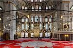 Turkey, Marmara, Istanbul, Interior of Fatih Mosque Stock Photo - Premium Rights-Managed, Artist: Siephoto, Code: 700-06732686