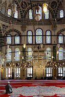 Turkey, Marmara, Istanbul, Interior of Fatih Mosque Stock Photo - Premium Rights-Managednull, Code: 700-06732687