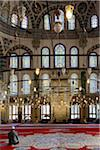 Turkey, Marmara, Istanbul, Interior of Fatih Mosque