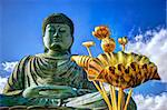January 25, 2013: Great Buddha of Hyogo in Kobe, Japan. Stock Photo - Royalty-Free, Artist: sepavo                        , Code: 400-06741338