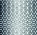 Abstract background, metallic silver banners. Vector illustration