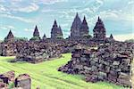 Prambanan temple. Java island, Indonesia Stock Photo - Royalty-Free, Artist: vicnt                         , Code: 400-06745431