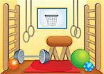 Sport and gym theme image 1 - eps10 vector illustration. Stock Photo - Royalty-Free, Artist: clairev                       , Code: 400-06749095
