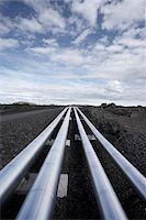 pipe (industry) - Geothermal Pipeline, Reykjanes, Iceland Stock Photo - Premium Royalty-Freenull, Code: 600-06752535