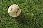 Baseball On Green Grass Stock Photo - Premium Rights-Managed, Artist: Aflo Sport, Code: 858-06756191