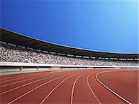 sprint - Running Track Stock Photo - Premium Rights-Managednull, Code: 858-06756209
