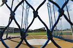 Athletic Field Throwing Cage Stock Photo - Premium Rights-Managed, Artist: Aflo Sport, Code: 858-06756245