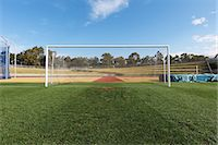 Soccer Goal Stock Photo - Premium Rights-Managednull, Code: 858-06756252