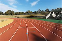 race track (people) - Running Track Stock Photo - Premium Rights-Managednull, Code: 858-06756256