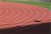 race track (people) - Running Track Stock Photo - Premium Rights-Managednull, Code: 858-06756457