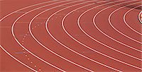 race track (people) - Running Track Stock Photo - Premium Rights-Managednull, Code: 858-06756458
